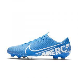 Nike Chaussure de football multi-surfacesà crampons Mercurial Vapor 13 Academy MG - Bleu - Taille 43 - Unisex
