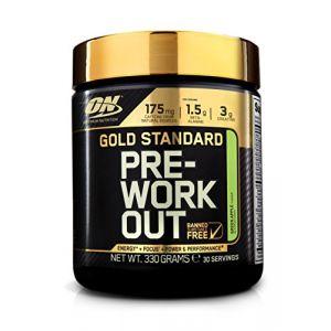 Optimum nutrition Gold Standard Pre Workout - 330g - Pomme verte