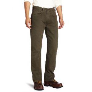 Carhartt Weathered Duck 5-Pocket Jeans/Pantalons Marron foncé 36