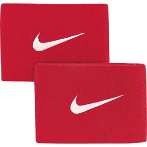Nike Fixations pour protège-tibias de football Guard Stay II - Rouge - Taille ONE SIZE