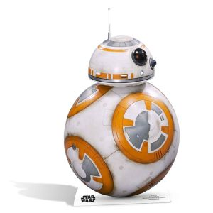 Figurine géante en carton BB-8 Star Wars