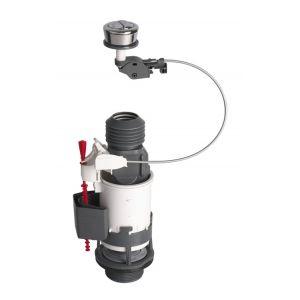 Wirquin Mécanisme de chasse MW2 NF à câble et poussoir double débit