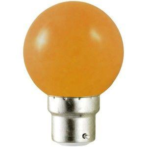 Vision-El Ampoule Led Orange 1W (9W) B22 Bulb -