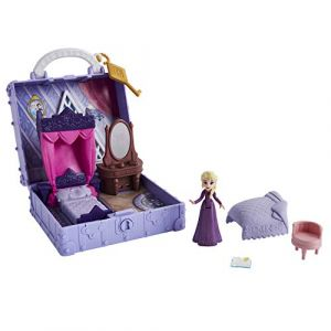 Hasbro Frozen Disney La Reine Des Neiges 2 - Mini Coffret Chambre De La Poupee Elsa - Pop Up