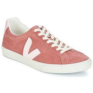 Veja Esplar Low Logo Suede Dried Petal Petale Baskets - Sneakers