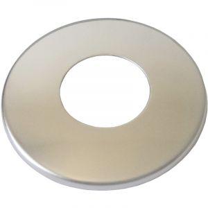 "Wirquin 1/2"" Inch BSP 21mm Chromé Acier Inoxydable Couvercle Tuyau Mince Collier"