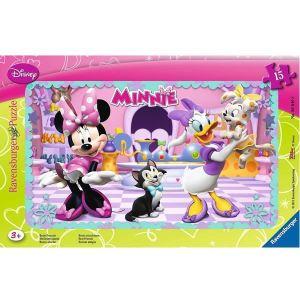 Ravensburger Puzzle cadre : Minnie 15 pièces