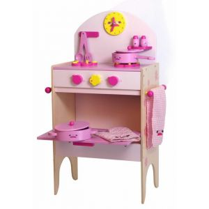 Legler Cuisinière pour enfant avec accessoires en bois Lucy