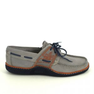 Tbs Chaussures bateau GLOBEK Gris - Taille 40,41,42,43,44,45,46