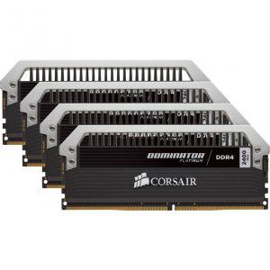 Corsair CMD64GX4M4A2400C14 - Barrette mémoire Dominator Platinum 64 Go (4x 16 Go) DDR4 2400 MHz CL14