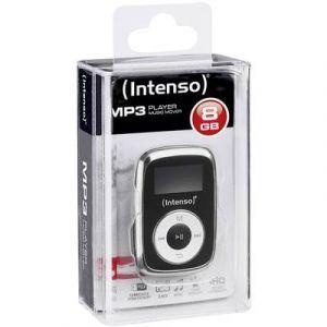 Intenso Lecteur MP3 Music Mover 8 Go noir clip de fixation