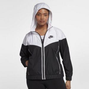 Nike Grande Taille - Veste Sportswear Windrunner pour Femme - Noir - Taille 3X - Femme