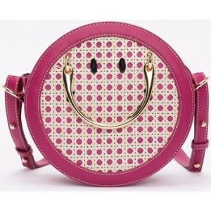 Lollipops Destraw - Sac rond Smiley - rose
