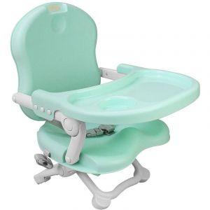 Sotech Rehausseur chaise enfant,chaise bébé table, Rehausseur Bébé,Chaise pour bebe, Vert, Hauteur: 38/42/46/50 cm,pour l'alimentation des bébés de 6 mois à 3 ans, charge maxi 15 kg