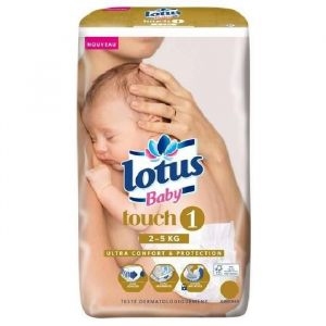 Lotus Baby Couches Touch taille 1 (2-5 kg) - 22 couches