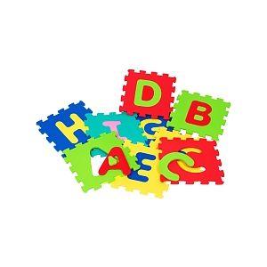Globo Tapis mousse puzzle ''Lettres'' - 9 pièces (modèle aléatoire)