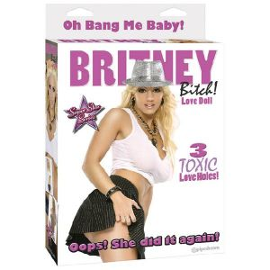LRDP Poupee gonflable Britney