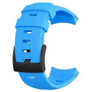 Suunto Pièces détachées Ambit3 Vertical Silic. Strap - Blue - Taille One Size