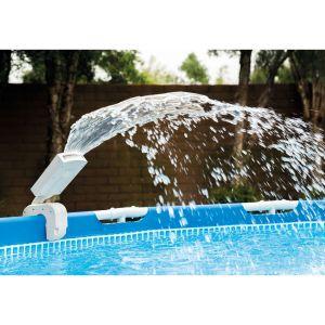 Intex Fontaine LED multicolore pour piscine