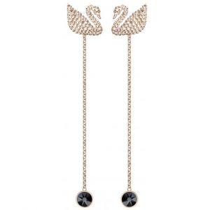 Swarovski Bijoux Femme Iconic Swan Pierced Boucles d'oreilles 5373164