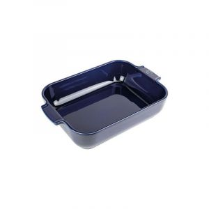 Peugeot Plat à four rectangle 32 cm Bleu Profond- Appolia