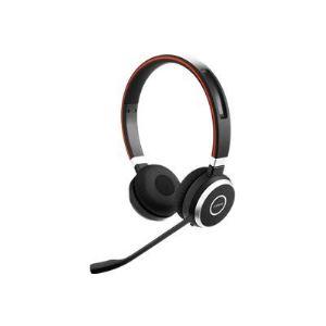 Jabra Evolve 65 UC Stéréo - Casque sans fil Bluetooth avec microphone