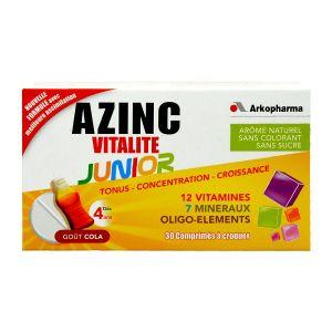 Arkopharma Azinc Vitalité Junior Cola - 30 comprimés