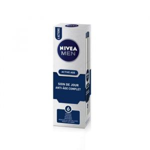 Nivea For Men Active Age - Soin de jour anti-âge complet
