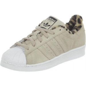 Adidas Superstar S76148 Basket Mode Femme, Beige (Dust Sand St/Dust Sand St/White), 42 2/3