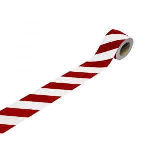 3M 13057L10 flexible blanc (réfléchissant), rouge (réfléchissant) (L x l) 25 m x 100 mm 1 rouleau(x)