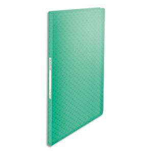 Esselte Protège-documents Colour'Ice - polypropylène 5/10ème - 60 pochettes - 120 vues - vert