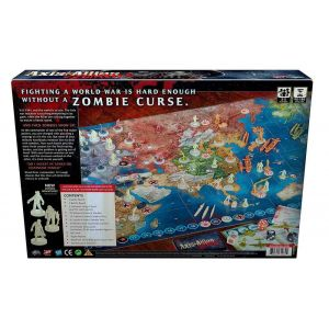Wizards of the coast Avalon Hill Jeu De Plateau Axis Allies Zombies *Anglais*