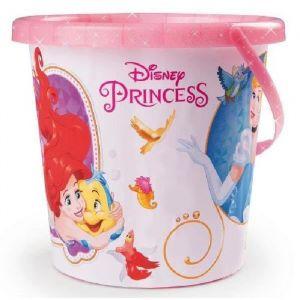 Smoby Seau de plage pailleté Disney Princesses
