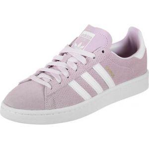 Adidas Campus J, Chaussures de Running Mixte Enfant, Multicolore (Aerpnkftwwhtftwwht), 38 2/3 EU