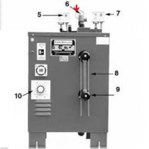 Procopi 1881002 - Soupape de sécurité de générateur de vapeur MR Steam MS et CT