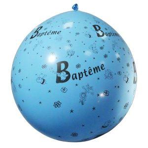 Ballon baptême géant opaque