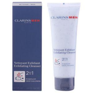Clarins Men - Nettoyant exfoliant 2 en 1 purifiant