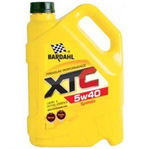 Bardahl Huile moteur XTC 5W40 Essence et Diesel 5 L