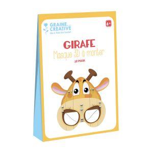 Graine Créative Masque 3D à monter Girafe