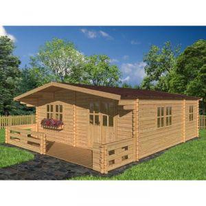 Madeira AB2174 - Abri de jardin Lipki en bois 43 mm 32,40 m2
