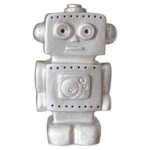 Egmont Toys Lampe veilleuse Robot argent