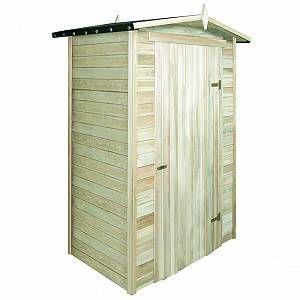 VidaXL Abri de stockage pour jardin Pin imprégné 150 x 100 210 cm