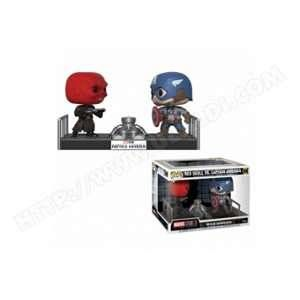 Funko Figurine Pop! Captain America Vs Red Skull Movie Moment Marvel