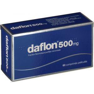 Servier Daflon 500 mg - 60 Comprimés