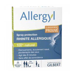 Laboratoires Gilbert Allergyl - Spray protection rhinite allergique 100 % naturel