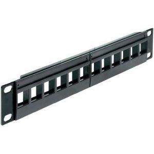 Delock 43259 - Panneau de brassage réseau non équipé 12 ports LAN