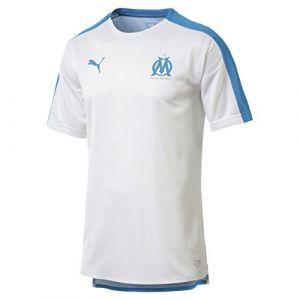 Puma Maillot Olympique de Marseille Stadium pour Homme White-Bleu Azur XS