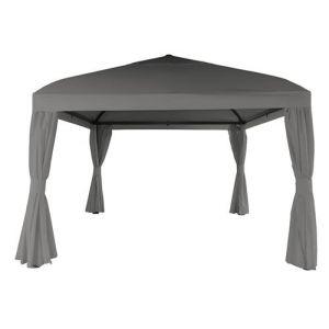 Pegane Pavillon toile polyester 250 g, UPF 50+ - Dim : 300 x 400 cm -