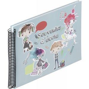 Panodia Album Scolaire Souvenir d'Ecole 31x23 cm 34 Pages