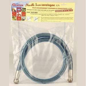 Gurtner Flexible INOX garantie à vie Gaz Naturel 0,50ml